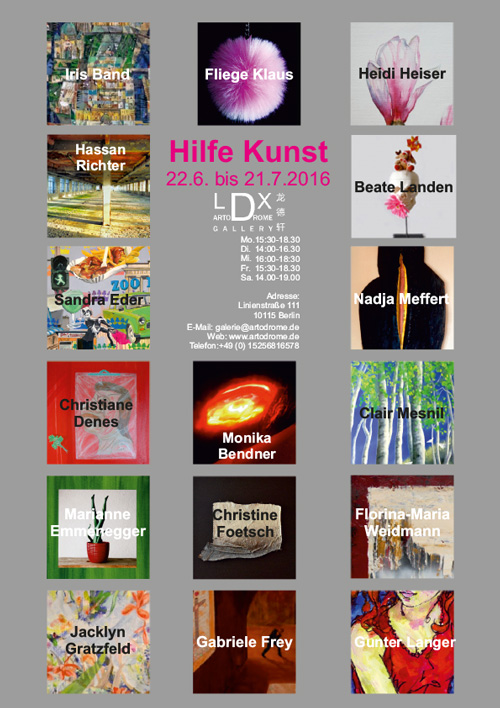 Berlin Art Week LDX Artodrome Gallery